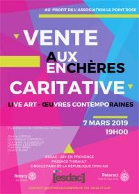 SH Enchères, Sophie Himbaut commissaire-priseur Vente aux enchères pour le Rotary au profit de l'association le point rose cover-07-03-2019